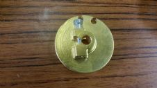 brass gear pulley  (splined fitting)